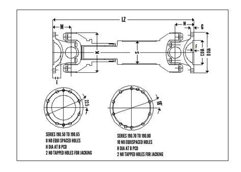 unique couplings cardan shaft couplings