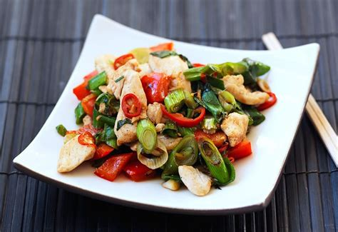 See more ideas about cooking recipes, asian recipes, recipes. Amazing Thai Chicken Stir Fry Recipe - Everyday Diabetes   Recipe   Thai chicken stir fry ...