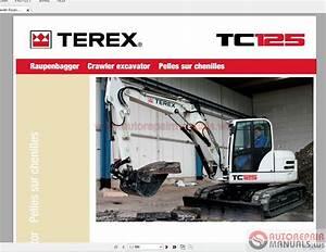 Terex Mini Crawler Excavators Tc125