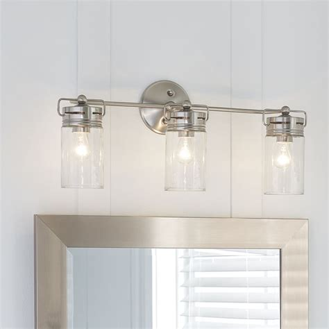cabin style light fixtures bathroom vanity lighting