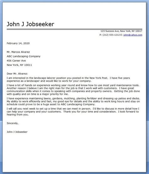 landscape cover letter sle creative resume design