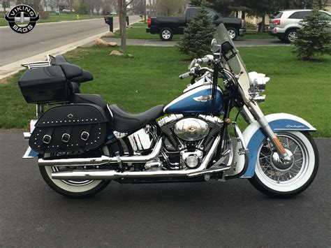 Softail Saddlebags. Shop Bags For Harley-davidson Softail