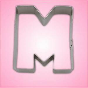 letter m cookie cutter cheap cookie cutters With letter m cookie cutter
