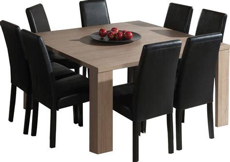 table cuisine extensible table de salle a manger carree