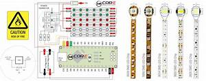 Wiring 3014  3020  2835  5050   Analog Led Strip With Mcu