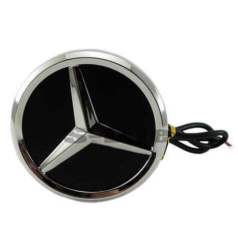 Silver is typical of the brand, and dates back to its involvement in the first grand prix at the nürburgring in 1934. 4D LED Car Tail Logo Blue Light Badge Emblem Light For Mercedes-Benz S350 S300L - LED Lights
