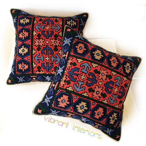 Blue Ram's Horn Kilim Pillows  Vibrant Interiors. Stand Alone Room Air Conditioner. Lake Bedroom Decorating Ideas. Living Room Side Chairs. Shelves For Living Room. Fsu Decor. Price To Paint A Room. House Decoration Ideas. Vintage Dining Room Set