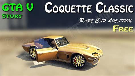 Franklin found bugatti chiron on a secret location , gta 5 stealing supercars with franklin gta. Coquette Classic super rare car location GTA 5 story mode hidden location - YouTube