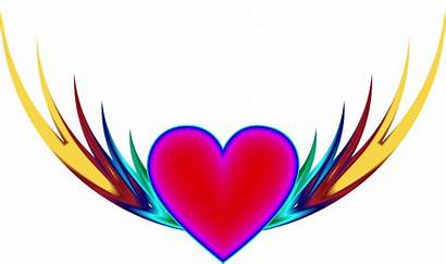 Clipart Heart Flying Cliparts Clipground Svg