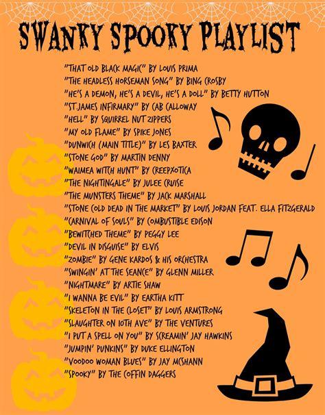 swanky spooky playlist   rockabilly