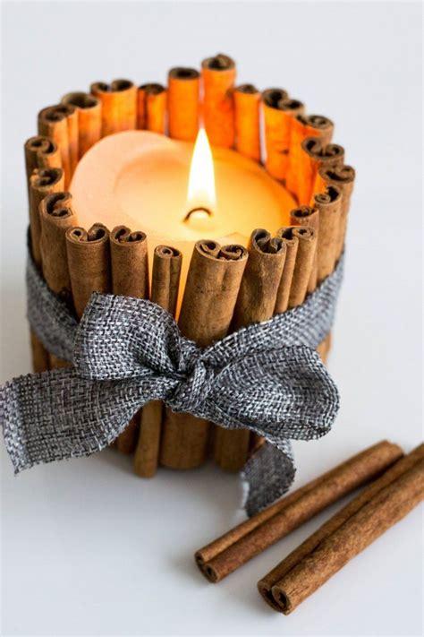 weihnachtsgeschenke für eltern selber machen duftkerzen mit zimtst 228 bchen selber basteln basteln kerzen selber machen duftkerzen und