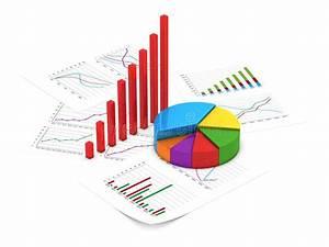 Financial Charts Royalty Free Stock Photography