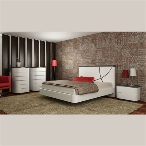 meubles chambre adulte chambre adulte contemporaine laque bicolore