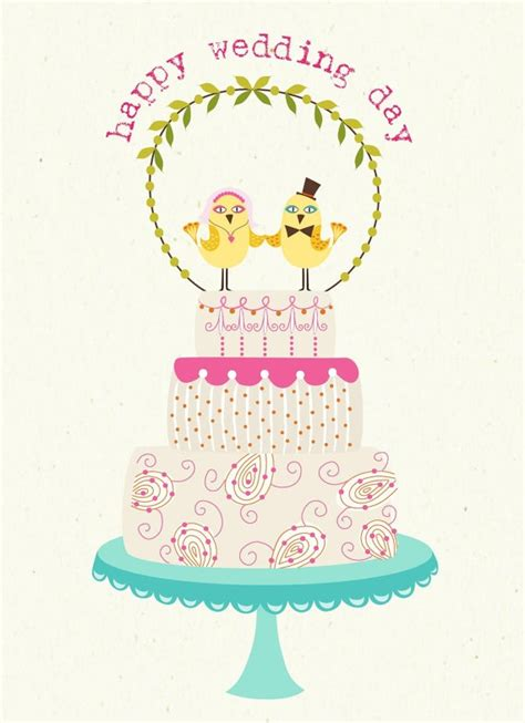 happy wedding day greeting card printables pinterest