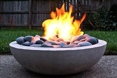Maybe you would like to learn more about one of these? Concrete Fire Pit | Concrete fire pits, Diy outdoor fireplace, Fire pit designs