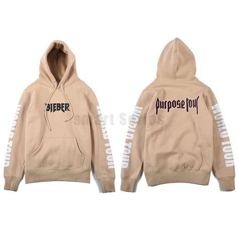 justin bieber sweater apricot justin bieber purpose tour sweater hoodie hiphop