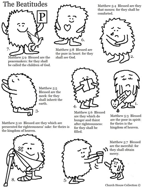 the beatitudes for preschoolers the beatitudes cards free printable template 470