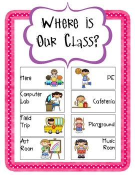 Where Is Our Class Sign By Christina Andrews Teachers