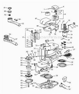 Delonghi Bar52 Parts List And Diagram   Ereplacementparts Com