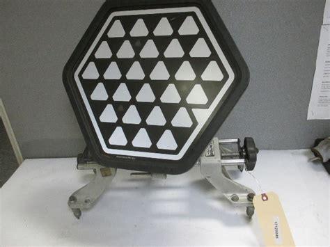 hunter dsp wheel alignment clamp  target reflector