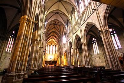 San Cathedral Spain Sebastian Church Urumea Europe