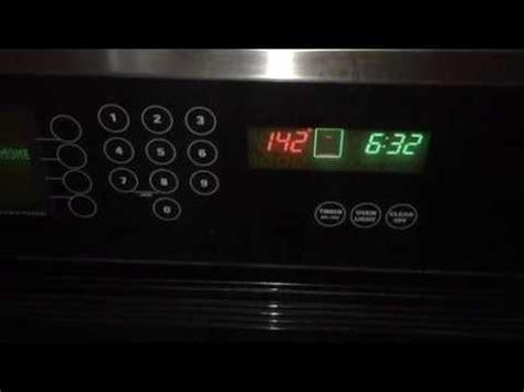 ge monogram oven clicking noise youtube
