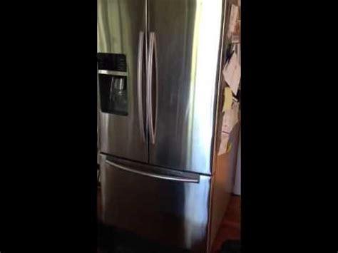 samsung freezer fan noise youtube