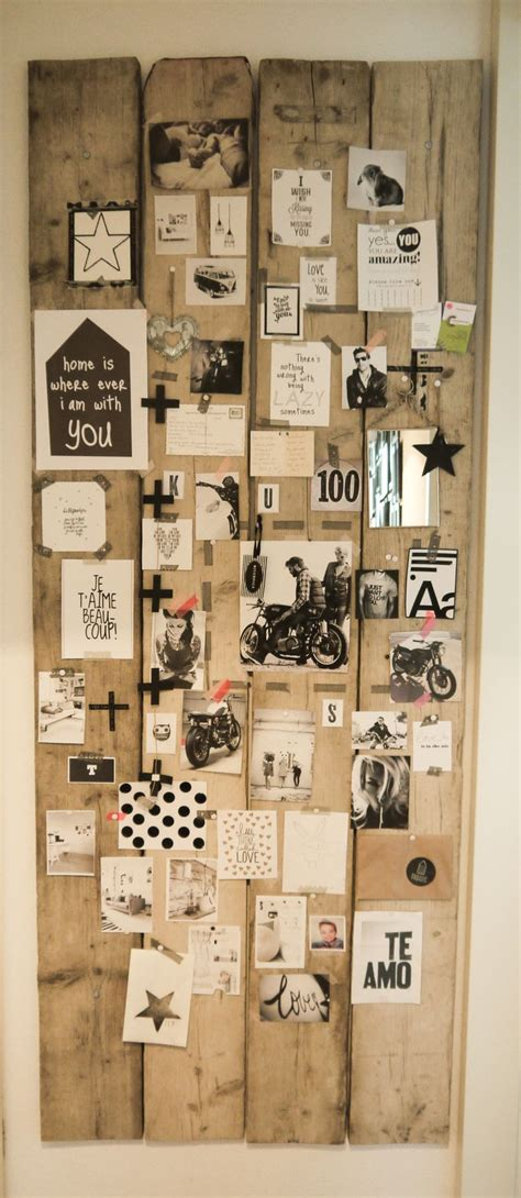 Holzreste Zum Basteln by Tolle Idee F 252 R Mein Vision Board Verwenden Sie