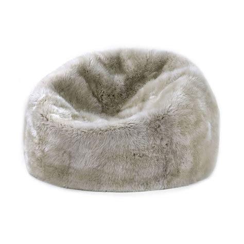 3 bean bag chair linen vellus wool touch of modern