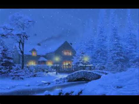 Snowy Cottage Animated Wallpaper - snow 3d live wallpaper and screensaver doovi
