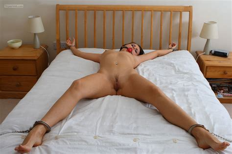 Tied Spread Eagle Bed Amateur