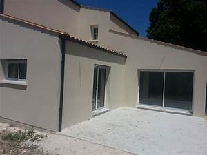 publi reportage maison etage st sulpice de royan maisons With porte d entrée pvc avec moquette salle de bain en dalles