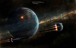 space, Space Art, Science Fiction Wallpapers HD / Desktop ...