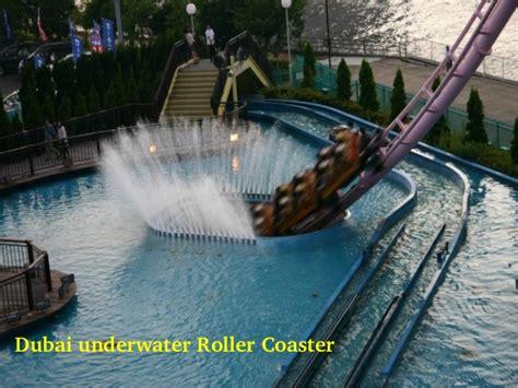 Underwater Roller Coaster In Dubai