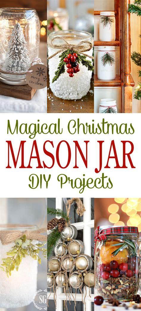 magical christmas mason jar diy projects  cottage market
