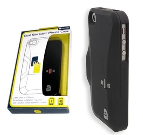 thumbsup dual sim card for iphone 4 4s switching