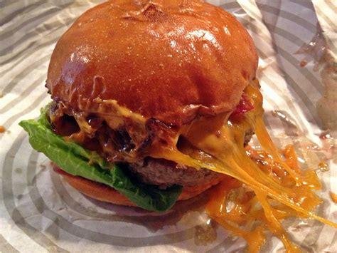 patty bun review   burger bar  restaurant  st