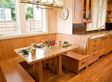 kitchen nooks with storage revival woodwork arts crafts homes and the revival 5423
