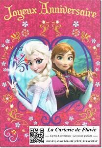Joyeux Anniversaire Reine Des Neiges : carte joyeux anniversaire reine des neiges coleteremelly ~ Melissatoandfro.com Idées de Décoration