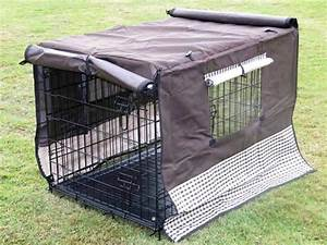 dog crate canvas cover waterproof dog crate covers pet With waterproof dog kennel cover