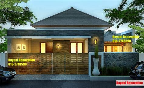 rumah moden minimalis tropis bayani home renovation