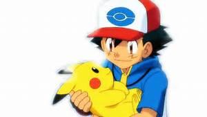 Ash and Pikachu Render
