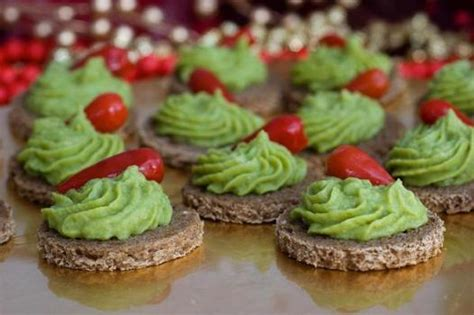 canapé priest canapes with avocado and green pea hummus the denver post