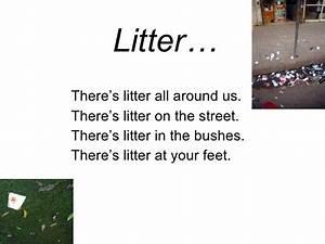 Litter Poem