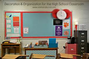 Image of: Decoration Organization High School Classroom Classroom Decorating Ideas To Create Your Own Classroom