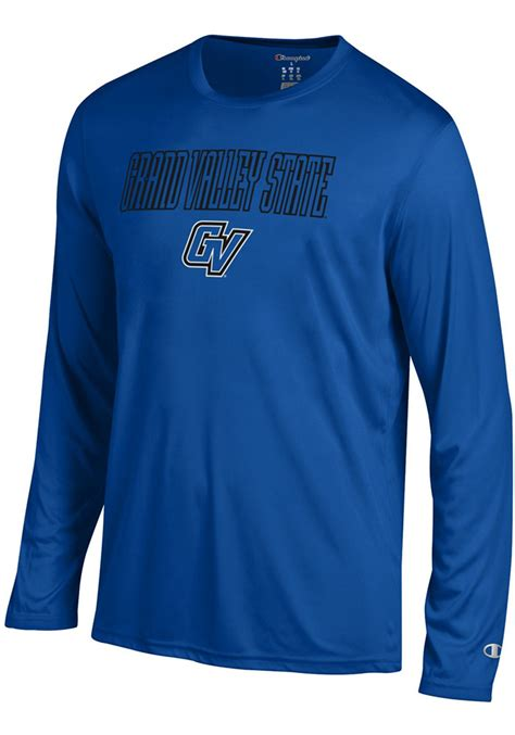 Champion Grand Valley State Lakers Blue Athletic Long ...