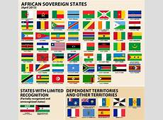 Vector set of Flags of sovereign states and other