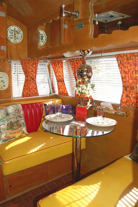 Kitchen Floor Ideas With White Cabinets - vintage shasta trailer interiors from oldtrailer com