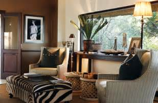 African Safari Themed Living Room by African Decor African Style Interior Design