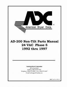 Non-tilting Ad-200 Manuals